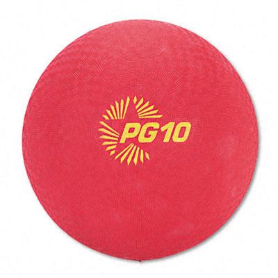Champion Sport PG10 Playground Ball Nylon 10 Red