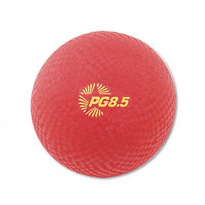 Champion Sport PG85 Playground Ball Nylon 8-1/2 Red