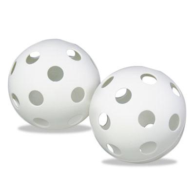 Champion Sport PLBB Plastic Baseballs 9 in. White 12 per set