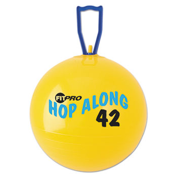 Champion Sport PP42 FitPro Hop Along Pon Pon Ball 42cm Yellow