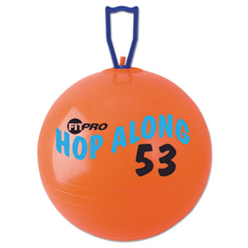 Champion Sport PP53 FitPro Hop Along Pon Pon Ball 53cm Red