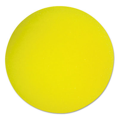 Champion Sport RD4 4 in. Diameter Uncoated Regular Density Foam Balls - Yellow