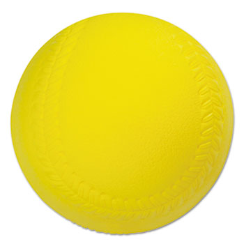 Champion Sport SB4 Coated Foam Sport Ball Softball Official Size Yellow