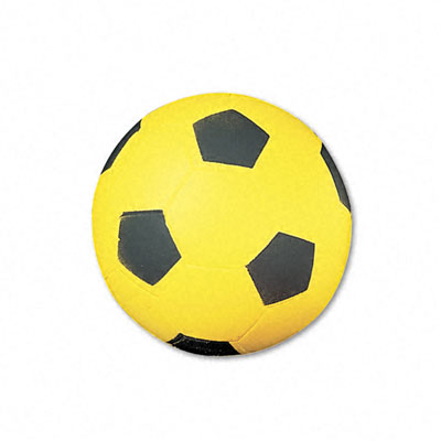 Champion Sport SFC Soccer Ball Coated Foam 12 oz. Yellow/Black