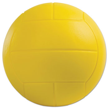 Champion Sport VFC Coated Foam Sport Ball Volleyball Yellow
