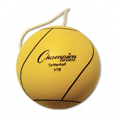 Champion Sport VTB Tether Ball Rubber/Nylon Optic Yellow