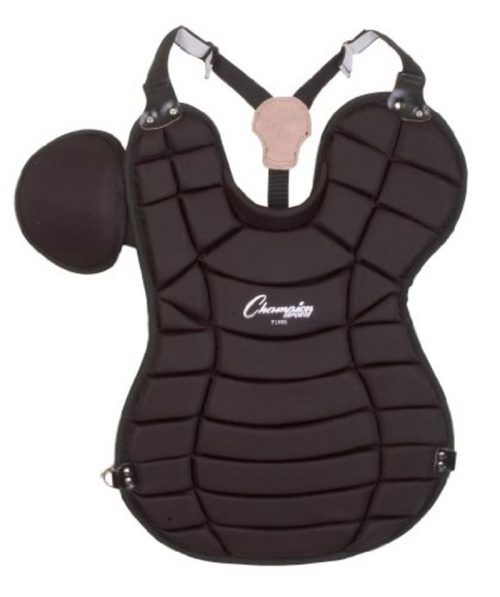 Champion Sports 03129 Adult Chest Protector Black