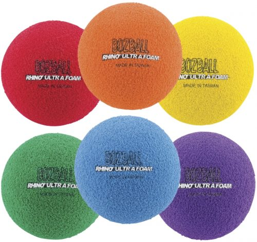 Champion Sports 1506838 3 in. Foam No-Bounce Ball Set Set of 6