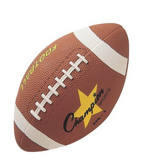 Champion Sports 20268 Pee Wee Size Rubber Football