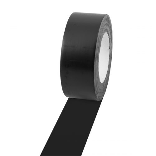 Champion Sports 2X36FTBK 2 in. x 36 Yards Vinyl Floor Tape Black