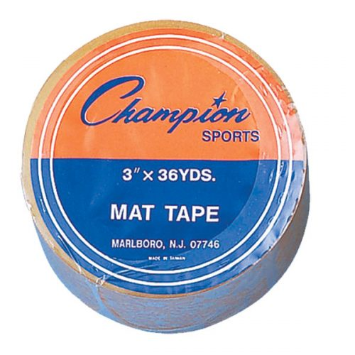 Champion Sports 3X36MT 3 in. x 36 Yards Mat Tape Clear