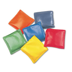 Champion Sports 4 Rainbow Bean Bags