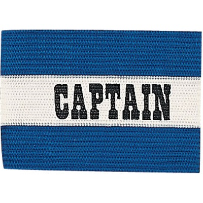 Champion Sports 49206 Blue Captain Soccer Arm Band