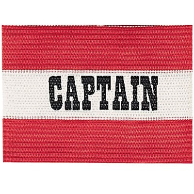 Champion Sports 49207 Red Captain Soccer Arm Band