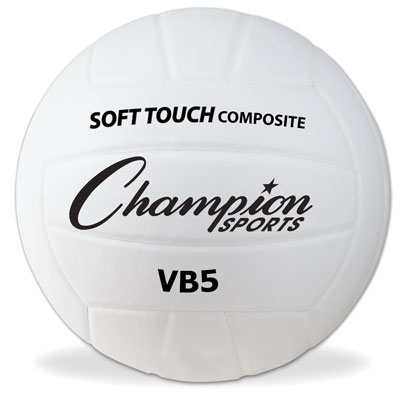 Champion Sports 61282 Official Size Synthetic Leather Volleyball