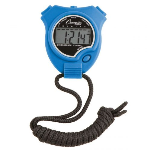 Champion Sports 910BL Stop Watch Royal Blue