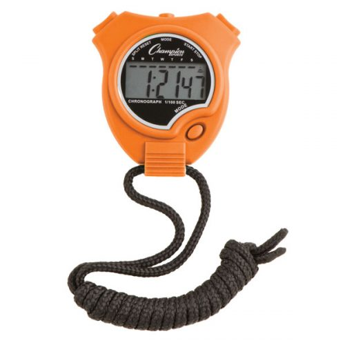 Champion Sports 910OR Stop Watch Orange