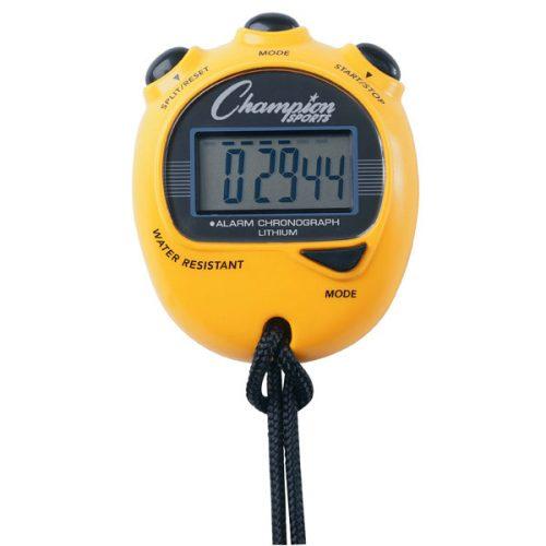 Champion Sports 920YL Big Digit Display Stop Watch Yellow