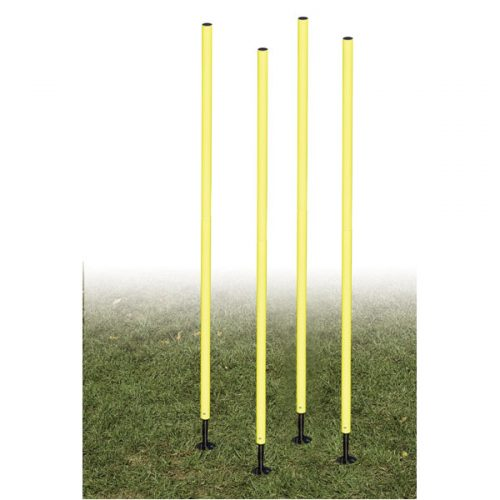 Champion Sports APSET Outdoor Agility Pole Set Yellow
