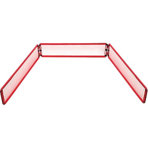 Champion Sports BB4812 Bowling Pin Backstop Red