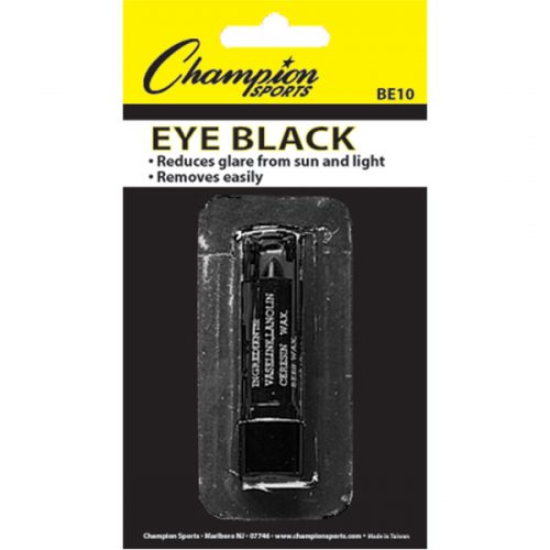 Champion Sports BE10 No Glare Eye Black