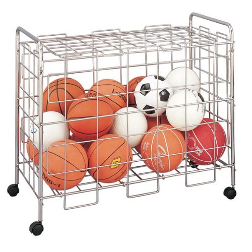 Champion Sports BLX Portable Ball Locker Silver