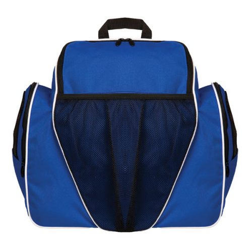 Champion Sports BP1810BL 18 x 19 x 10 in. Deluxe All Purpose Backpack Royal Blue