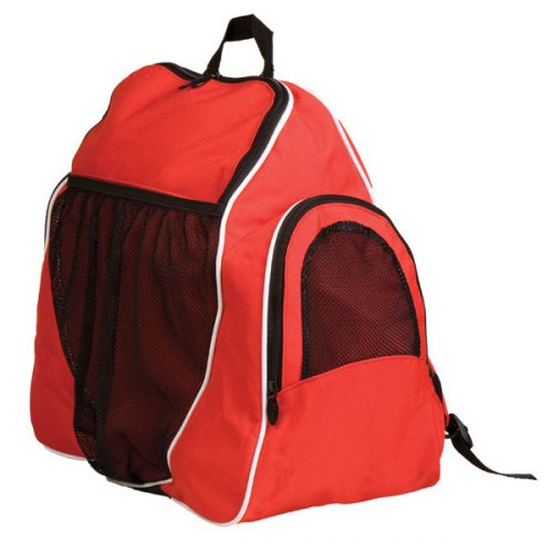 Champion Sports BP1810RD 18 x 19 x 10 in. Deluxe All Purpose Backpack Red