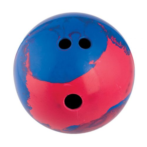 Champion Sports BP25 2.5 lbs Rubber Bowling Ball Blue & Red