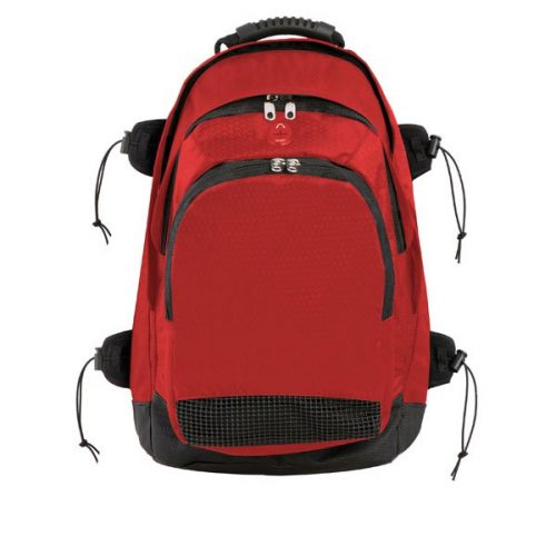 Champion Sports BP802RD 13 x 20 x 10 in. Deluxe All Purpose Backpack Red