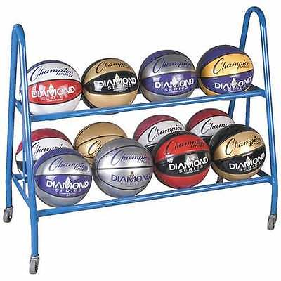 Champion Sports BRC12 12 Ball Cart Royal