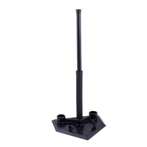 Champion Sports BT103 Portable Batting Tee Black - 3 Position