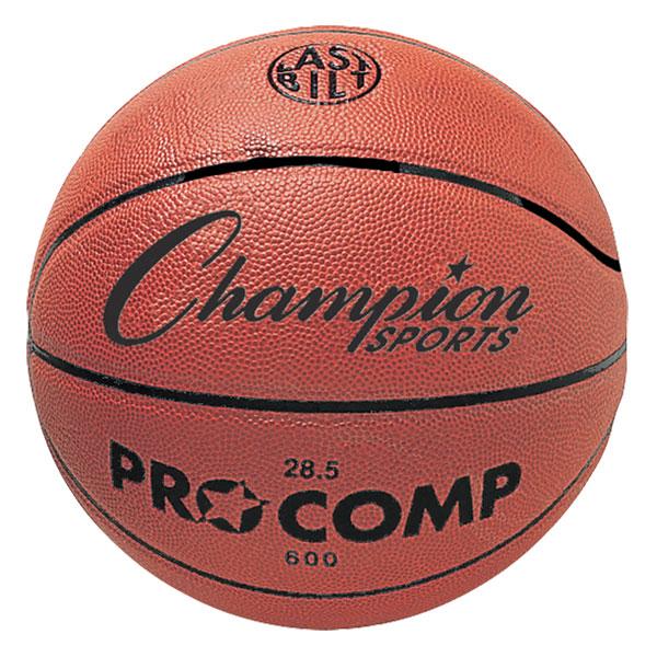 Champion Sports C600 28.5 in. Composite Game Basketball Orange