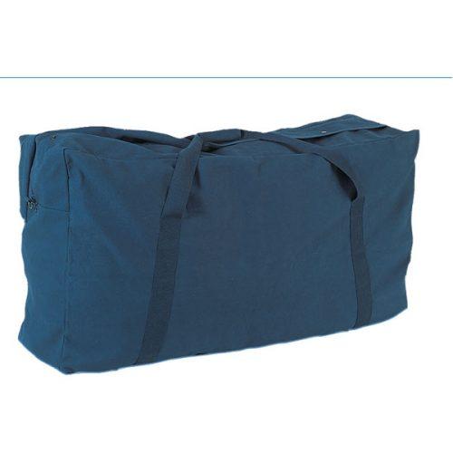 Champion Sports CB4224NY 22 oz Oversized Canvas Zippered Duffle Bag Navy