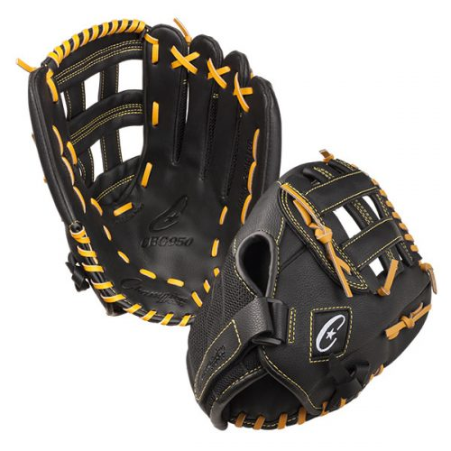 Champion Sports CBG950 13 in. Physical Education Glove Series Black