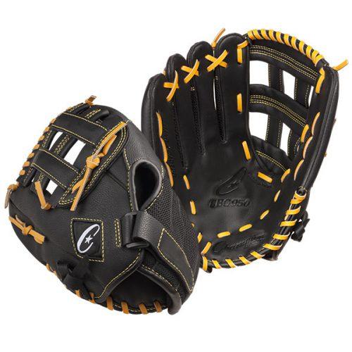 Champion Sports CBG950RH 13 in. Physical Education Glove Series - Full Right Black