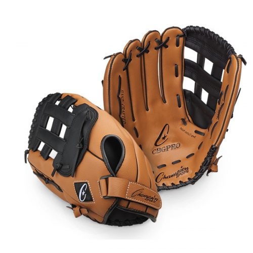 Champion Sports CBGPRORH 14.5 in. Fielder ft.s Glove - Full Right Brown & Black