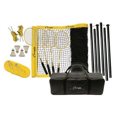 Champion Sports CG203 Tournament Series Badminton Set