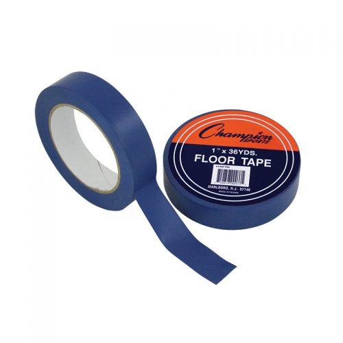 Champion Sports CHS1X36FTBLBN Floor Marking Tape Blue - Pack of 6