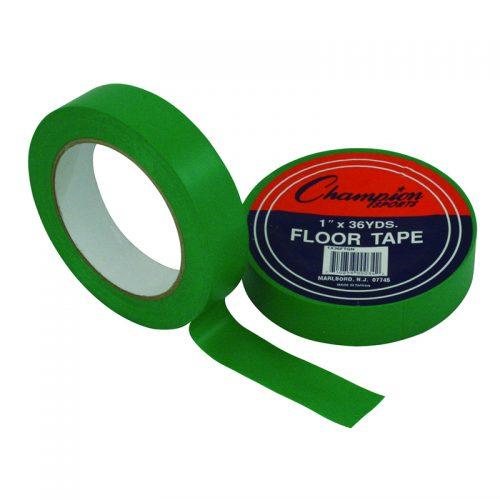 Champion Sports CHS1X36FTGNBN Floor Marking Tape Green - Pack of 6