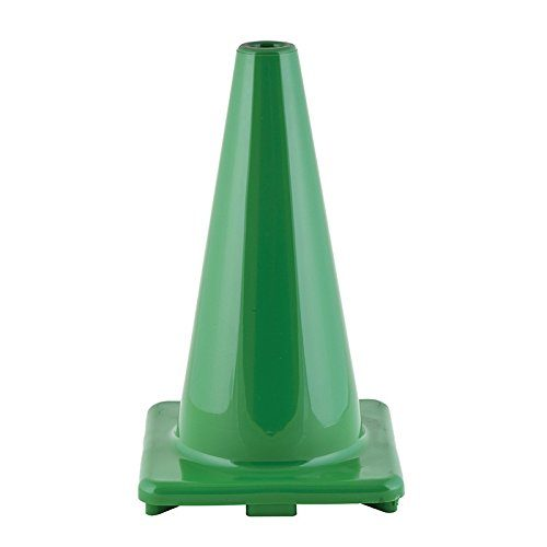 Champion Sports CHSC18GN 18 in. Hi Visibility Flexible Vinyl Cone - Green