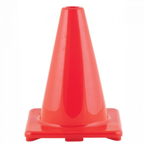 Champion Sports CHSC6ORBN 6 in. Flexible Vinyl Cone Orange