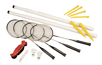 Champion Sports CHSDBSET Deluxe Badminton Set