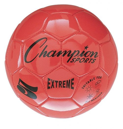 Champion Sports CHSEX3OR 3 Size Extreme Series Soccer Ball - orange