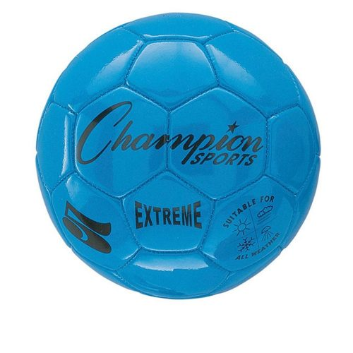Champion Sports CHSEX5BL 5 Size Extreme Series Soccer Ball - Blue