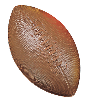 Champion Sports CHSFFC Coated Foam Ball Football