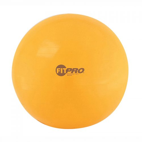 Champion Sports CHSFP75 75 cm Yellow Fitpro Training Ball