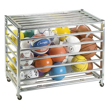 Champion Sports CHSLBCXX Lockable Ball Storage Locker