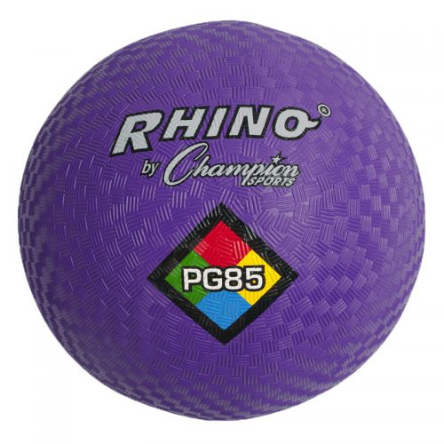 Champion Sports CHSPG85PRBN 8.5 in. Play Ground Ball Purple