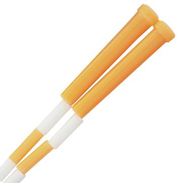 Champion Sports CHSPR10 Plastic Segmented Ropes 10Ft Orange & White